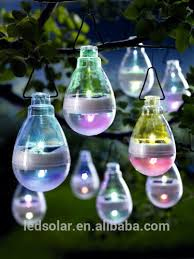 decorative lights solar powered hanging solar lights for garden