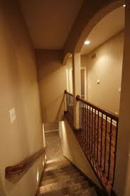 Stairs To Basement Ideas - we opened up this stairway on all sides connecting the basement