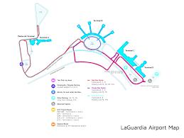 Jfk Map Laguardia Airport Terminal Map X X Us 2017