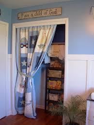 Curtain As Closet Door Curtain To Replace Closet Door Curtain Quilt For Closet Door