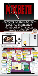 character analysis sample essay character of lady macbeth essay best ideas about macbeth analysis best ideas about macbeth analysis shakespeare shakespeare s macbeth character analysis digital and printable