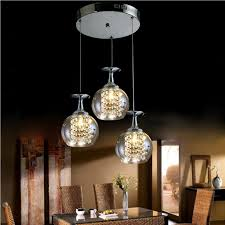 Home Decor Lights Online by Wholesale Led Glass Hanging Lights Online Buy Best Led Glass