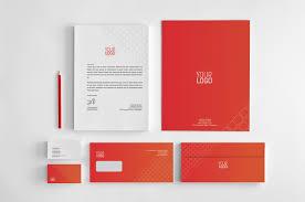 Vestibulum Sapin Prin Quam by Red Cubes Corporate Identity Stationery Templates Creative Market