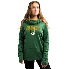 Hoodie With Thumb Holes Womens Women U0027s Green Bay Packers Majestic Green Speed Fly Pullover Hoodie