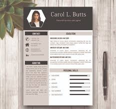 Clean Resume Template Word 67 Best Modern And Creative Resume Templates Images On Pinterest