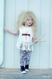 throw back thursday 80 u0027s hair band boy u0027s halloween costume the