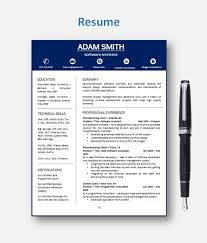resume template cv template with add on for extra pages cover