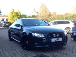 used audi a5 s line for sale audi a5 3 0 tdi s line sportback s tronic quattro 5dr for sale at