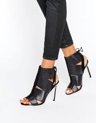 river island bandage heeled shoe boot asos women shoes ee1auh7x