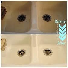 how to remove rust stains from porcelain sink remover manchas deep cleaningh sink how to remove rust stains from