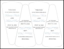 diy wedding program fans template 88 best wedding fan programs images on fan programs