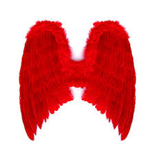 extra large red halloween feather angel wings polyvore