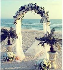 arch wedding darice 5209 06 decorative 8 foot white wedding