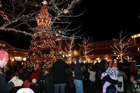 zona rosa tree lighting make your mark november 2013