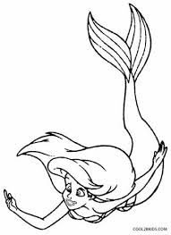 printable mermaid coloring pages kids cool2bkids