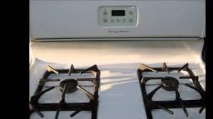 Frigidaire Oven Pilot Light Frigidaire Gas Stove 4 Burner Oven Broiler Storage Youtube