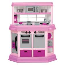 Kitchen Set American Plastic Toys Custom Kitchen Ft 22 Accessories Walmart Com