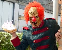 rent a clown for birthday party evil birthday clown will stalk and attack your child for a fee