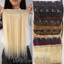 human hair clip in extensions clip in human hair extensions ebay