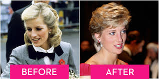 Wedding Hair Extensions Before And After by Princess Diana U0027s Hair Though The Year Diana Princess Of Wales Style
