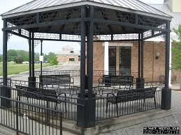 14x14 Outdoor Gazebo by Gazebo Metal Roof Roofing Decoration