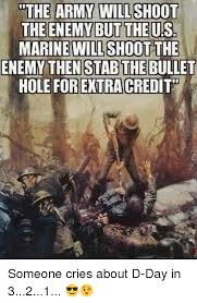 Us Marine Meme - the army will shoot the enemy but the us marine will shoot the enemy