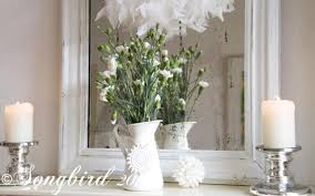 Interior Design With Flowers Winter White Decorations