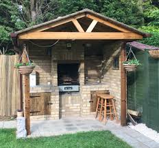 top outdoor kitchen shed images home design simple on outdoor