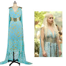 Game Thrones Halloween Costumes Daenerys Game Thrones Daenerys Targaryen Cosplay Costume Women U0027s Dress