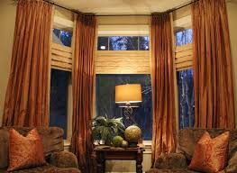 Curtain Color For Orange Walls Inspiration 9 Best Window Decor Images On Pinterest Interior Decorating For