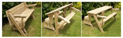 Foldable Picnic Table Design by Folding Bench And Picnic Table Combo Build Instructions