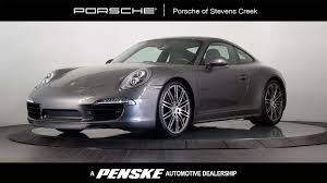 porsche cayman 2015 grey 2015 used porsche 911 2dr cpe carrera 4s at porsche of stevens