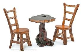 rustic pub table and chairs rustic bistro table natural stump table rustic metal bistro table