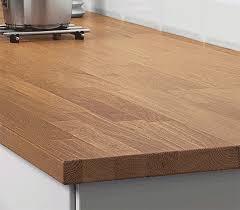 plan de travail cuisine sur mesure stratifié plan de travail cuisine sur mesure en bois ou stratifié ikea