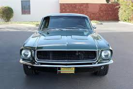 coupe mustang 1968 used ford mustang bullitt fastback at cammisa automotive inc