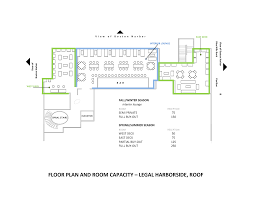 boston legal harborside floor 3 private dining legal sea foods a master floor plan illustrates the options and capacities