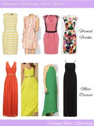 Dresses For A Summer Wedding Naturally Me What To Wear To A Summer Wedding