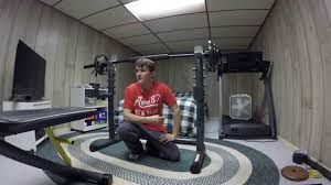in depth product review of gold u0027s gym xrs20 olympic bench youtube