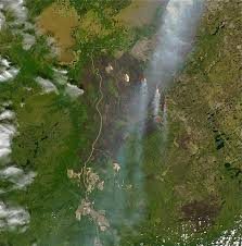 Canada Wildfire Satellite by Richardson Fire Wikipedia