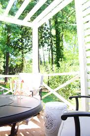 patio privacy makeover with pergola the home depot blog