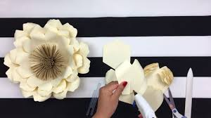 Flower Backdrop Diy Paper Flower Backdrop Spring Flowers Template 14 Youtube