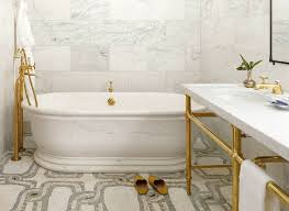 Brass Fixtures Bathroom 18 Gorgeous Marble Bathrooms With Brass Gold Fixtures Brass