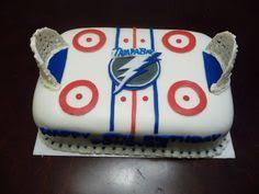 tampa bay lightning cake i made for my son u0027s birthday christa u0027s