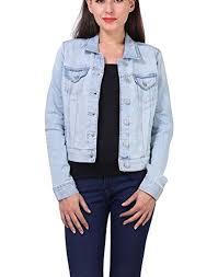 light distressed denim jacket kotty light distress denim jacket at glowroad q2p3f