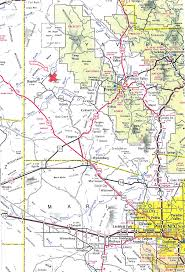 Arizona County Map Yavapai County Map Image Gallery Hcpr