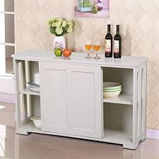kitchen buffets furniture amazon com go2buy antique white stackable sideboard buffet