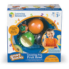 amazon com learning resources counting fun fruit bowl office