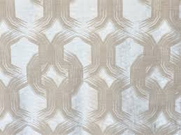 wholesale home decor fabric silver and beige chains curtain fabric by the yard upholstery