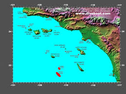 Naval Base San Diego Map by Map Of The California Channel Islands Destinations Of The Great
