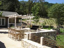 Outdoor Kitchen Island Designs by Designing An Outdoor Kitchen For A Barbecue Party